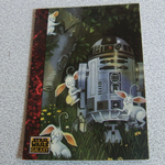 Star Wars Galaxy 1993 Topps #61  R2-D2 The Art of Star Wars Trading card